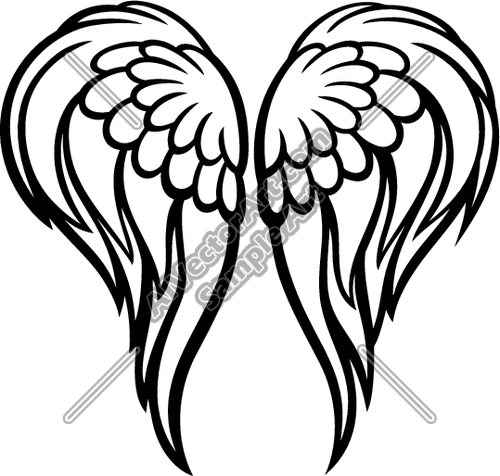 angel wings clipart panda free clipart images in memory of rh pinterest com clipart wings free clipart wings free