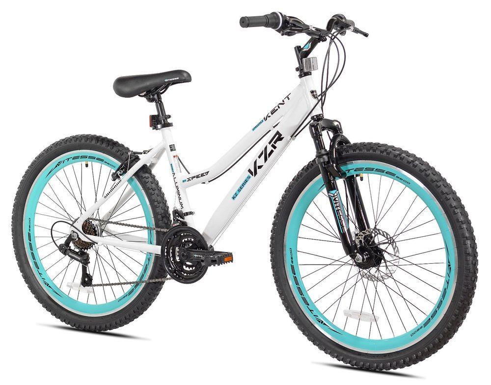 New 26 Women S Mountain Bike 21 Speed Shimano Knobby Tires Bike Bicycles Pedals Shimano Mountain Bike Accessories Mountain Bike Tires Mountain Biking