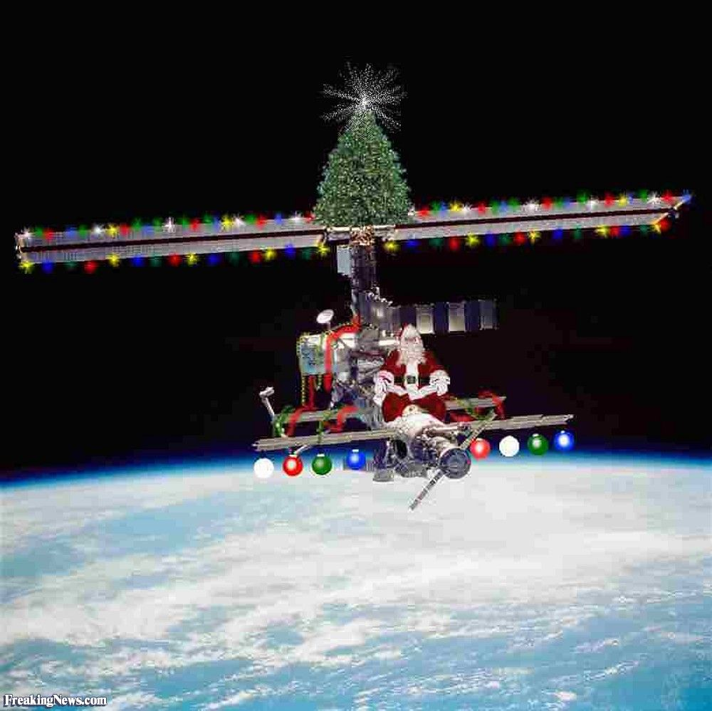 Science Facts Christmas: Merry Christmas From The Space