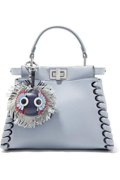 f824b69b0273c Fendi - Leather bag charm | Products | Bags, Fendi, Leather bag