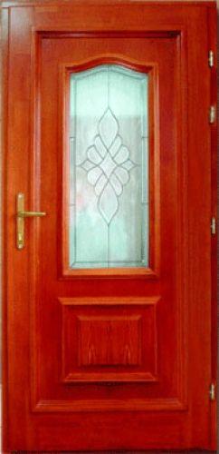 Wooden front door – Doors – Windows, plastic windows, pair …