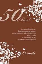 tarjetas invitaciones participaciones cumpleaos adultos