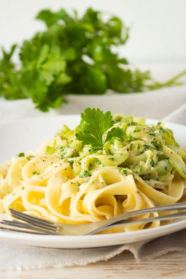 Summer Squash Pasta