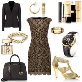 De Bijenkorf Styleboard - Festive gold  #bcare #bijenkorf