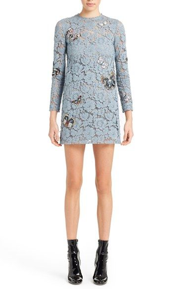 Valentino Butterfly Embroidered Lace Dress $4,990.00 #TopSale #womensfashion #WomensClothing
