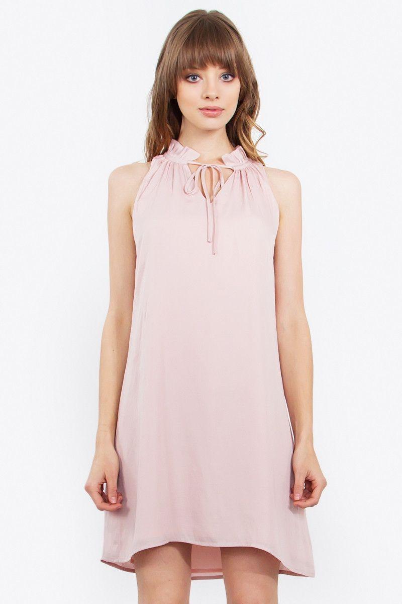 Soft Blush Dress