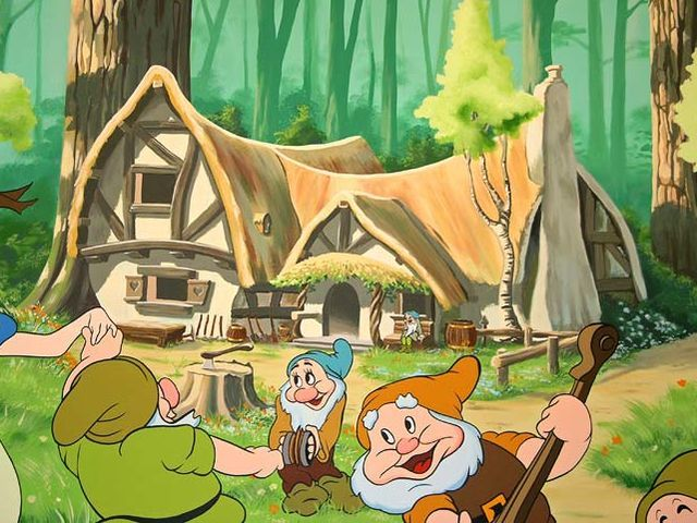 Can These Five Questions Determine What Famous Disney Home You Should Live In Disney Mural Snow White Cottage Snow White Disney
