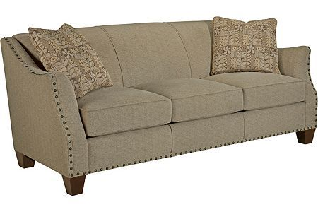 allison sofa by broyhill i m not sure about the studs but i