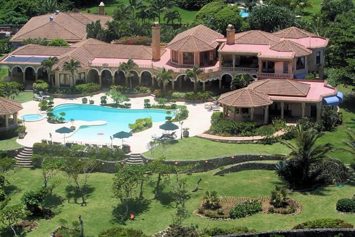 Luxurious Oceanfront Villa For Sale in Cabrera! Beautiful ...