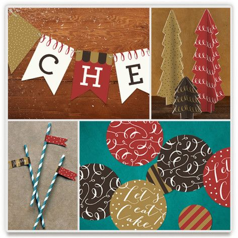 Party Themes Minted Printables Pinterest