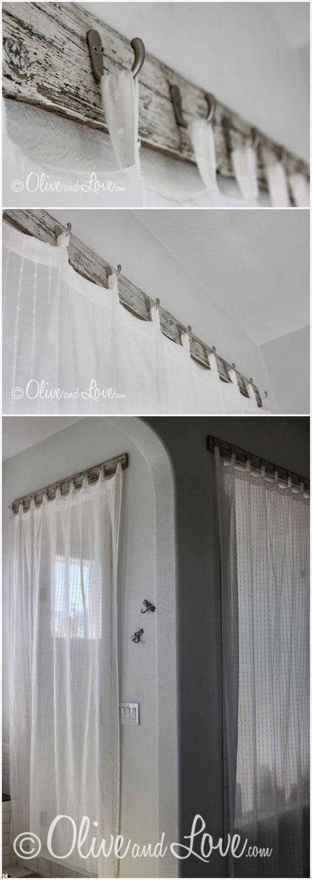 Alternative To A Curtain Rod