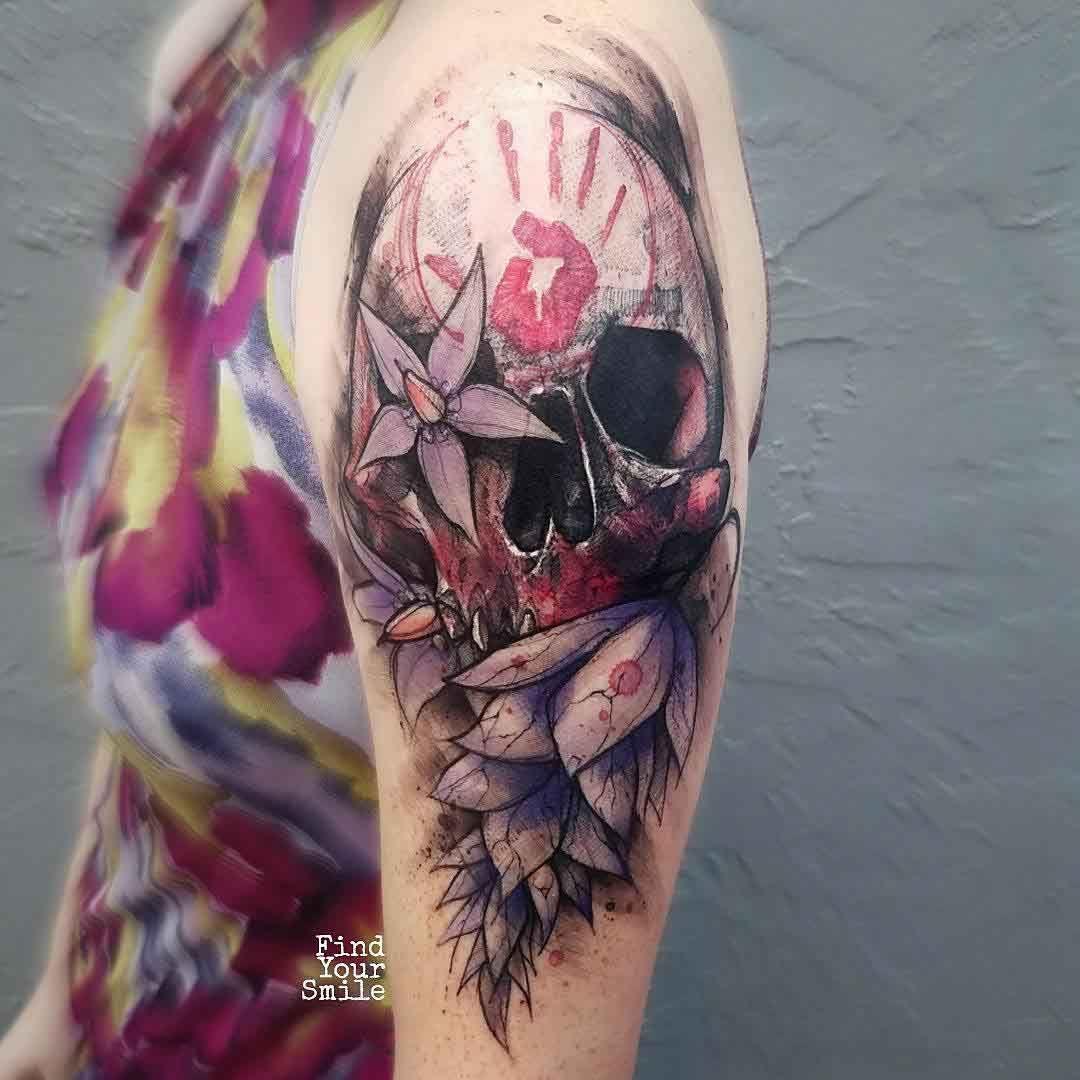 Colorful skull tattoo designs best tattoo ideas gallery