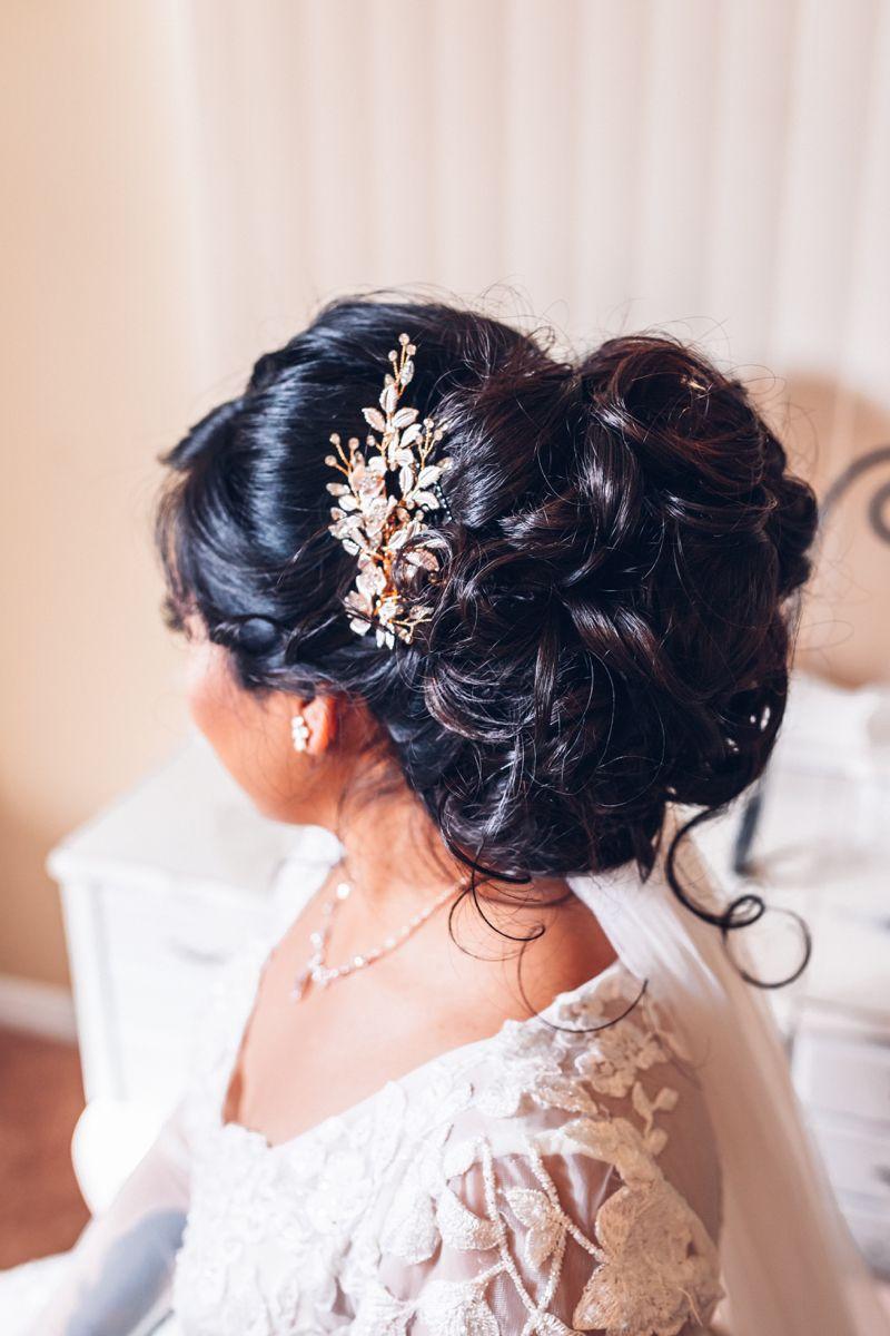 Long Hair Wedding Updo in 2020 Long hair wedding styles