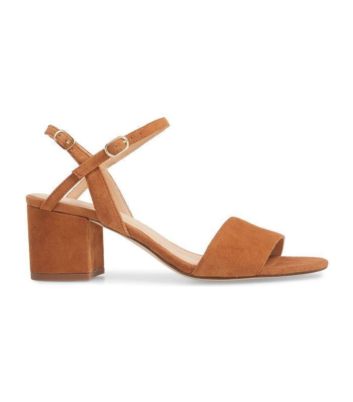 I Have 25 Screenshots of This Shoe Style on My Phone via WhoWhatWearAU minimalist sandals tan sandals tan shoes heel sandals heel sandals chunky Source by celinehg shoes