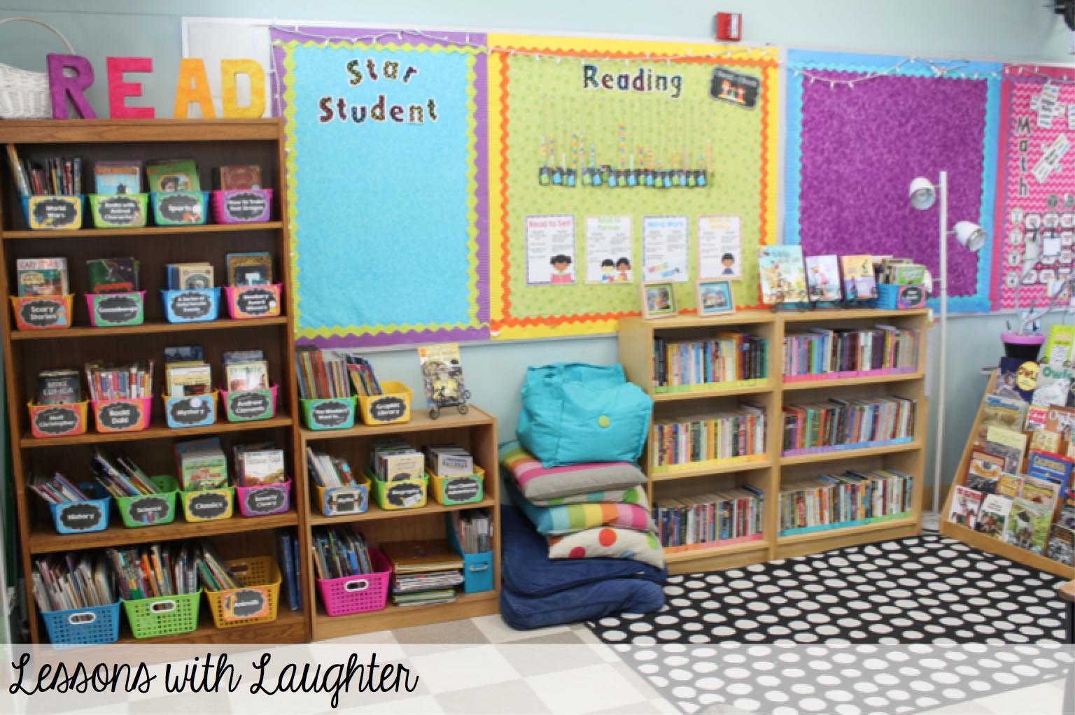 Classroom Design Books ~ Classroom library organization design spaces