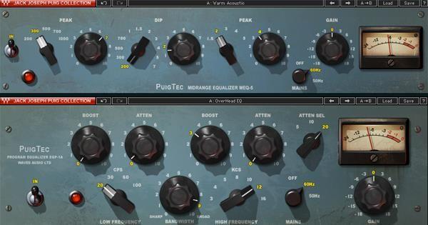 Puigtec Eqp 1a And Meq 5 Eqs Music Gadgets Waves Audio Music Technology