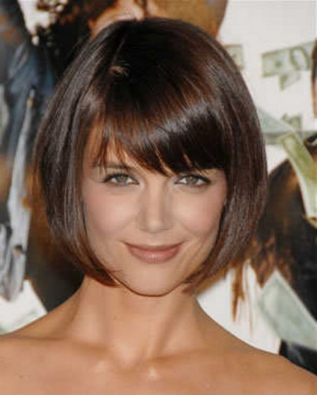 short bob hairstyles with side swept bangs here a simple