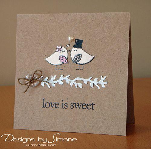 Love is Sweet Birds & Branch Card