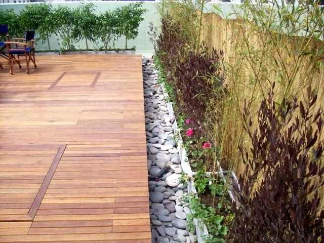 Jardines madera inspiraci n de dise o de interiores - Diseno de jardines interiores ...