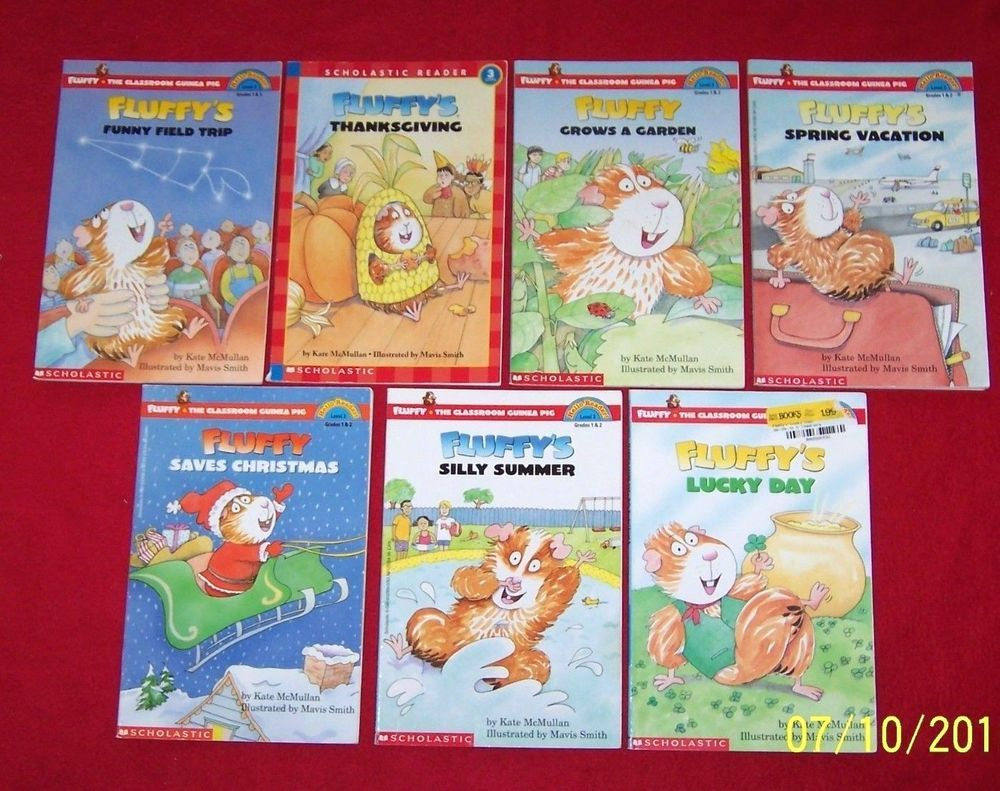Fluffy The Classroom Guinea Pig Scholastic Readers7 Level 3 Books