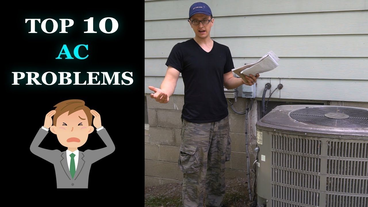 Central Air Troubleshooting Top 10 AC Problems YouTube