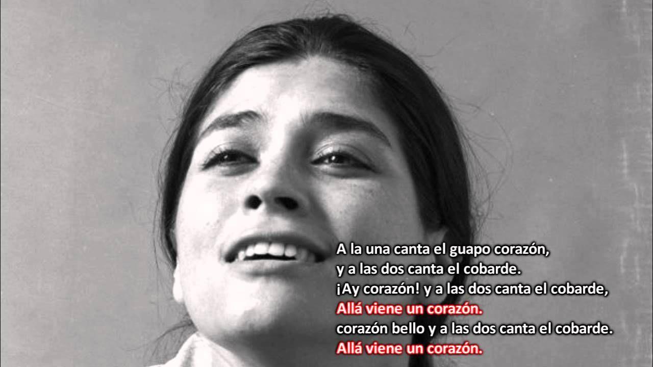Soledad Bravo ► Allá viene un corazón