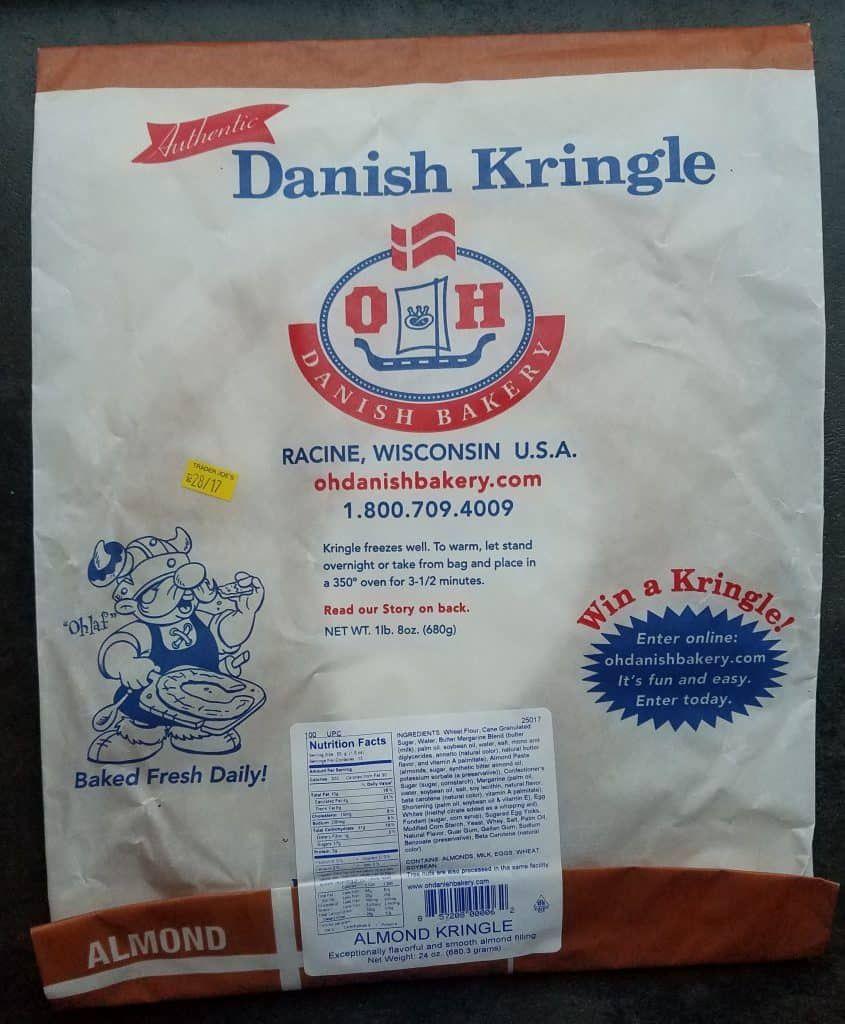 Trader Joe S Almond Danish Kringle Danish Kringle Trader Joes Kringle