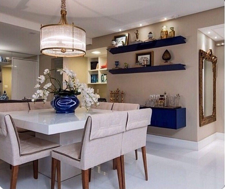 Pin By Chirine Khalaf On Home Interior: Decoração - Salas De Jantar