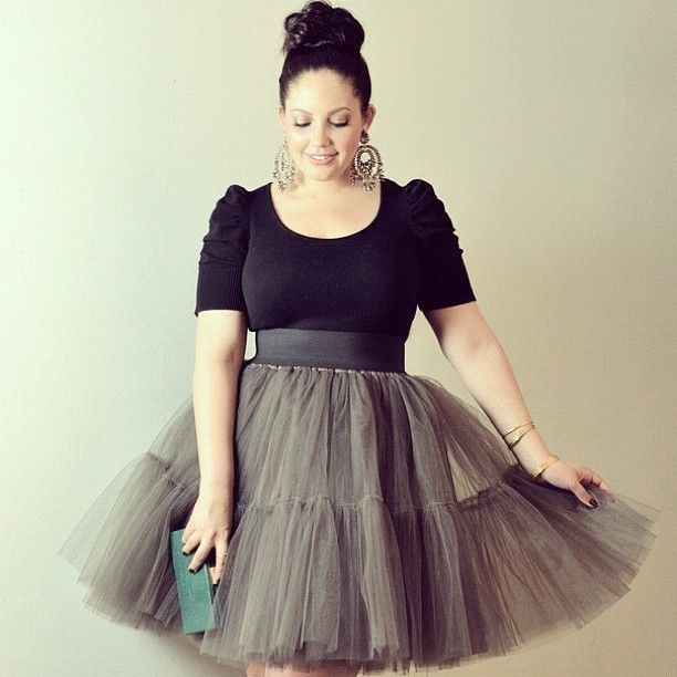 5 ways to wear a formal skirt as a plus size girl | Formal skirt ...