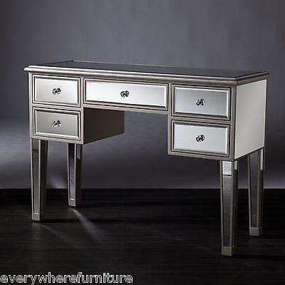 Best Details About Vanity Table Set Desk Stool Makeup Bedroom 640 x 480