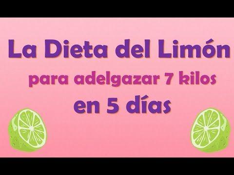 Dieta de 5 dias para adelgazar