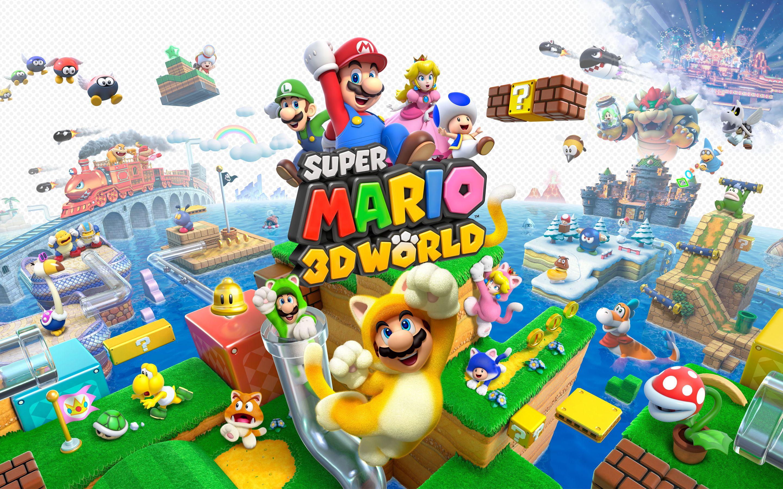 Super Mario 3d World Wallpaper Super Mario 3d Super Mario Super Mario Bros