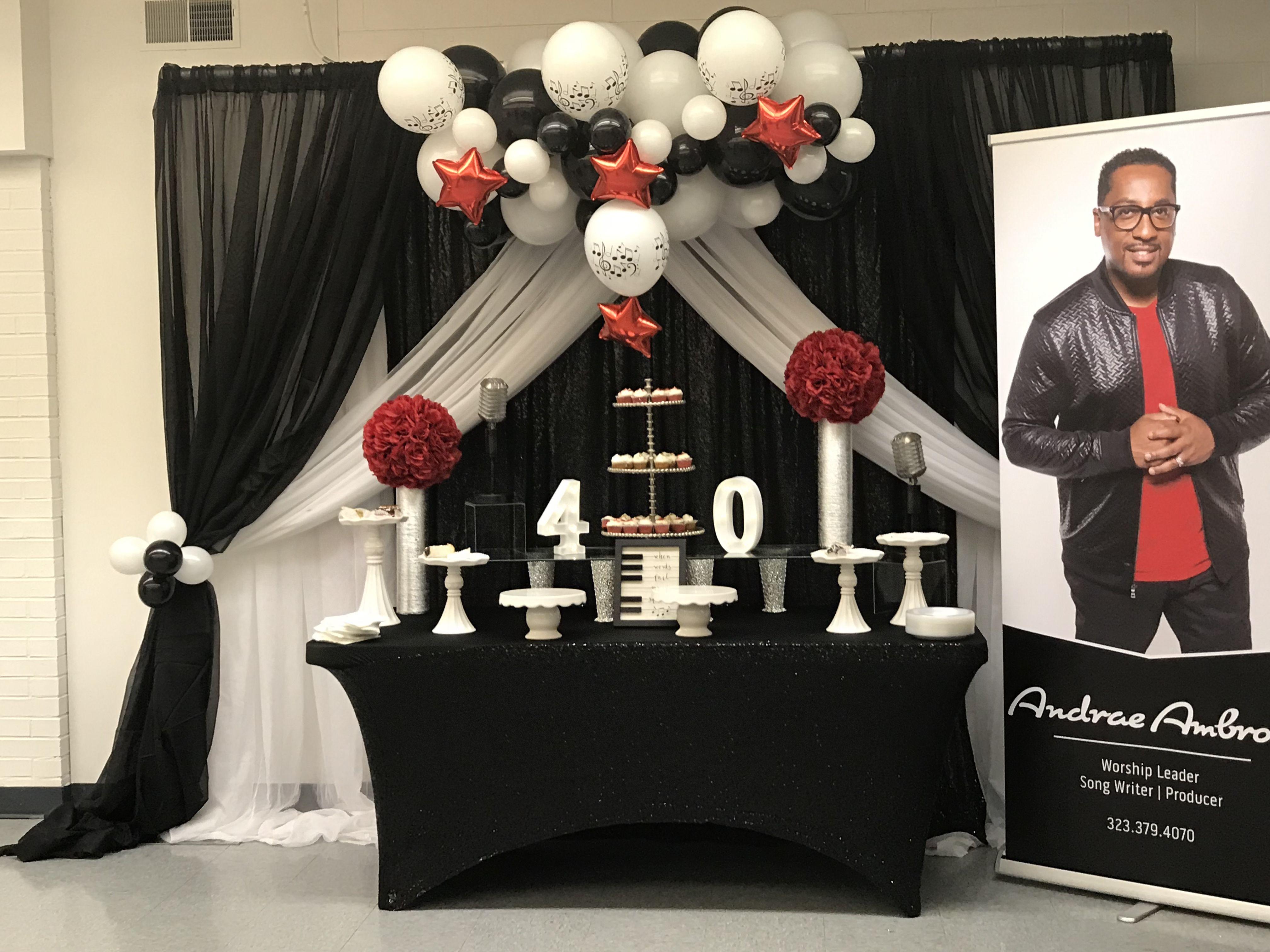 balloon decor ideas for men birthday