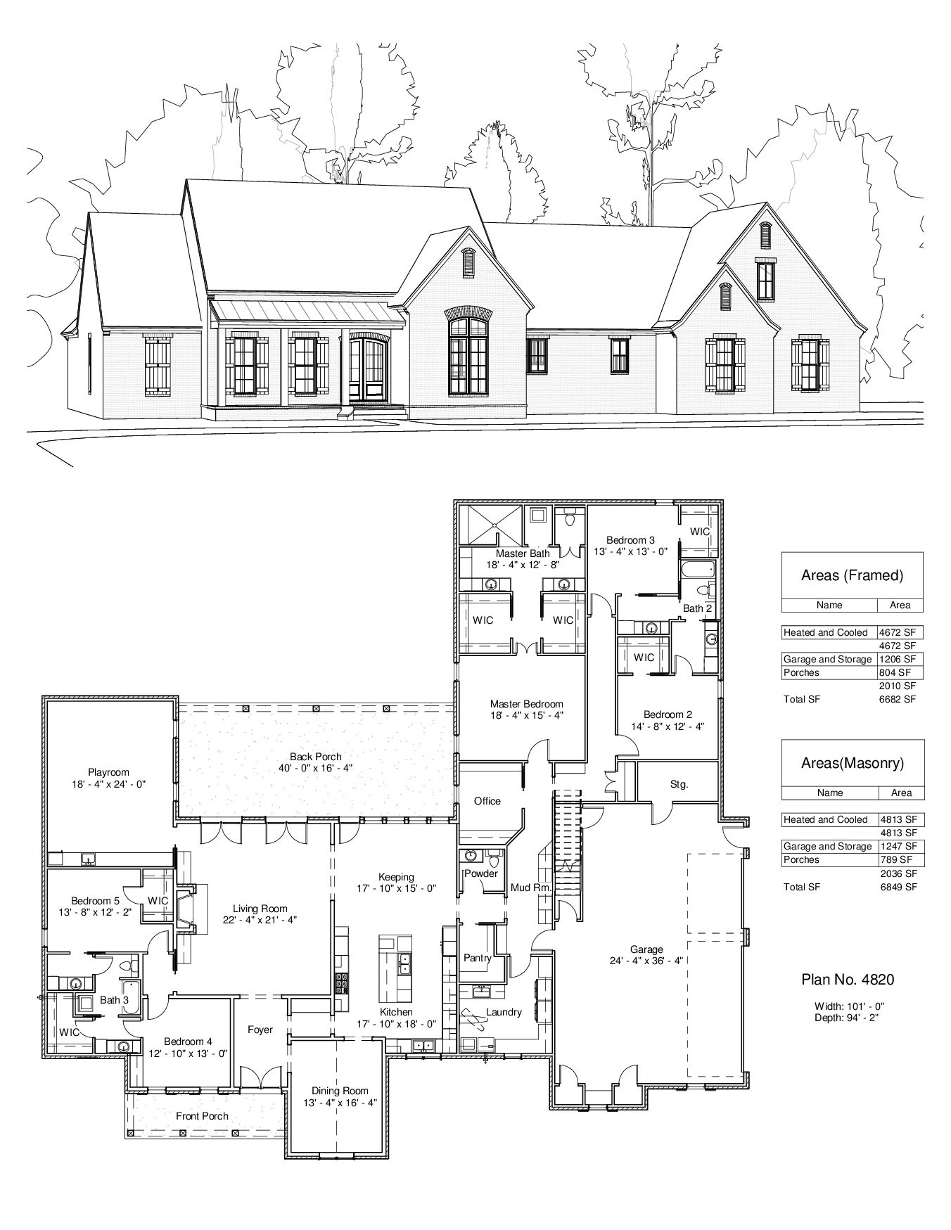 Plan 4820 Design Studio New House Plans Floor Plans House Plans