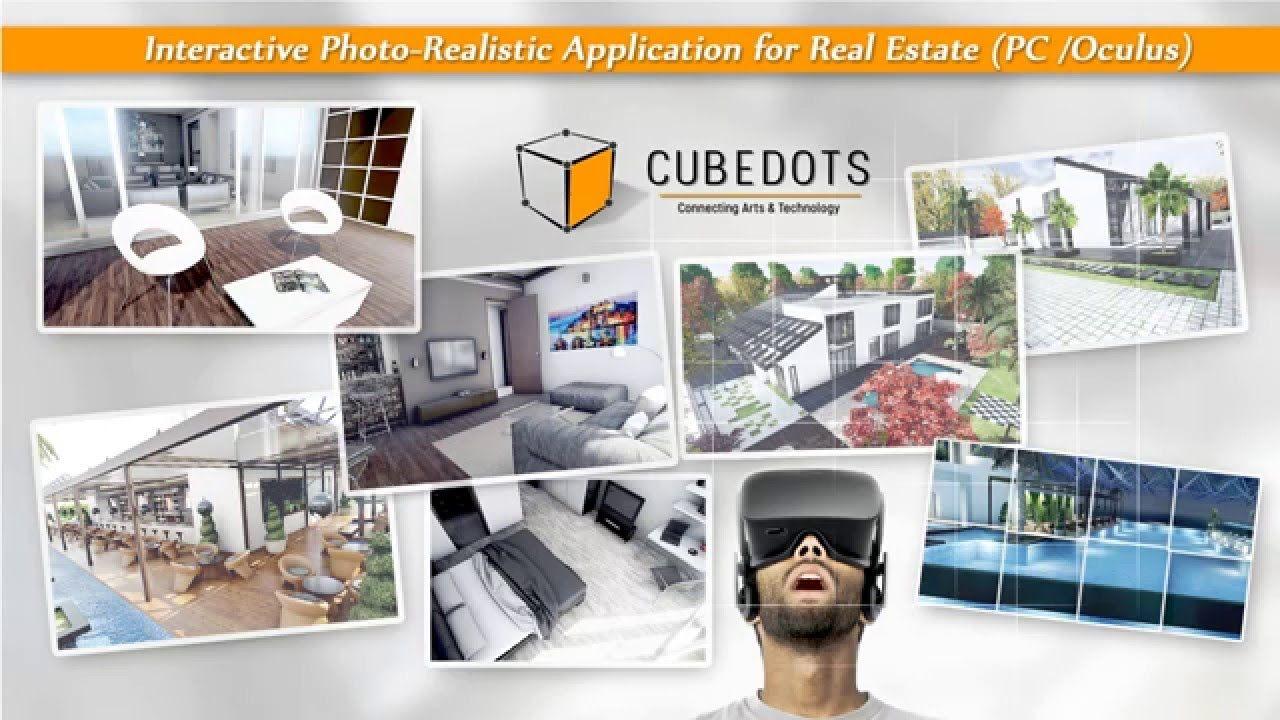 CubeDots Presentation Photo Realistic Interactive