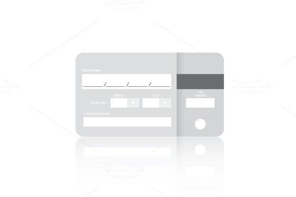 Credit card fo web site form $900 Business Infographic - credit card form
