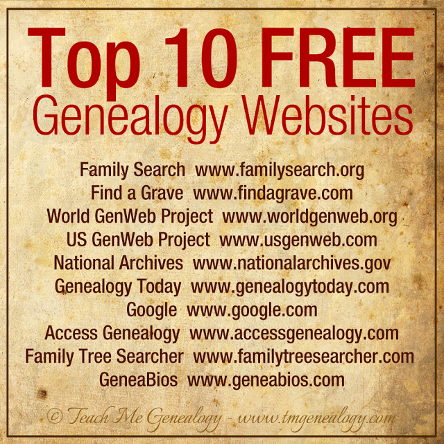 free family geneaology