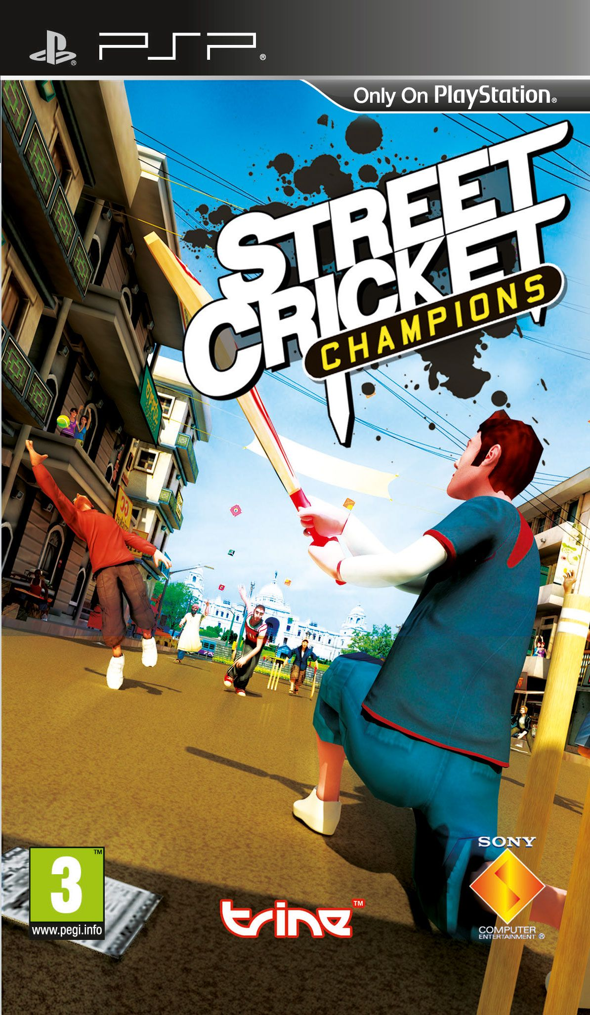 street cricket champions psp game collection pinterest cricket