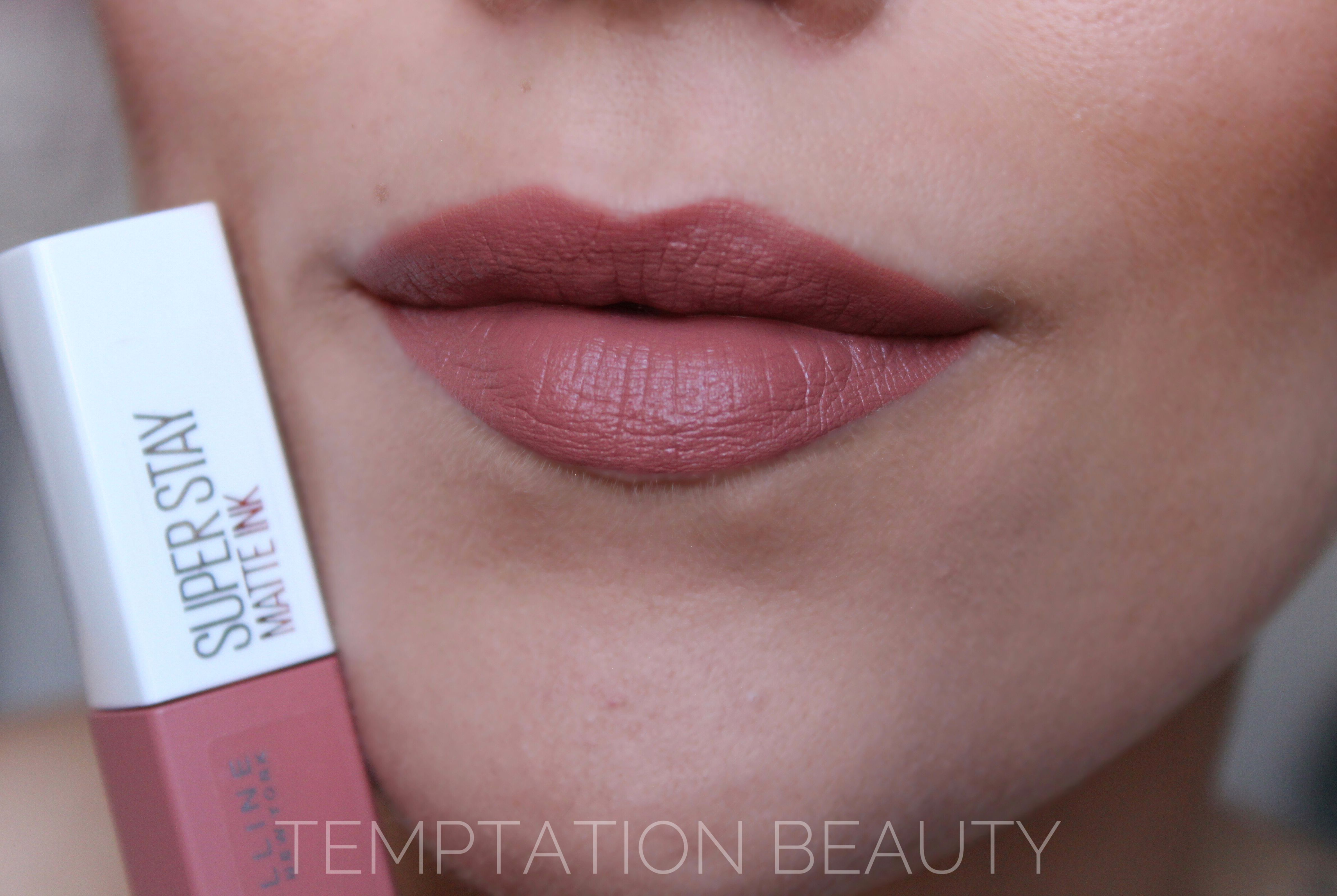 Super Stay Matte Ink 65 Seductress Maybelline Makeup