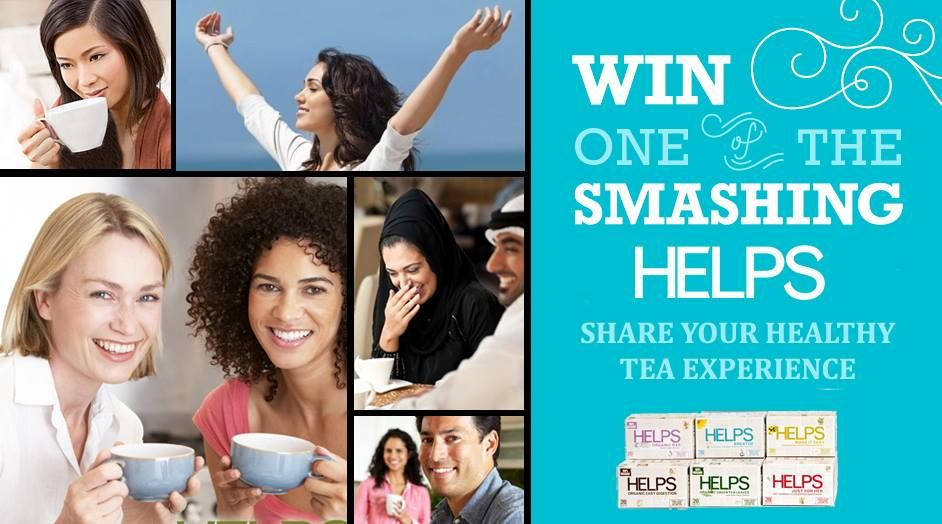 Tell us your experience with HELPS Teas and win a full