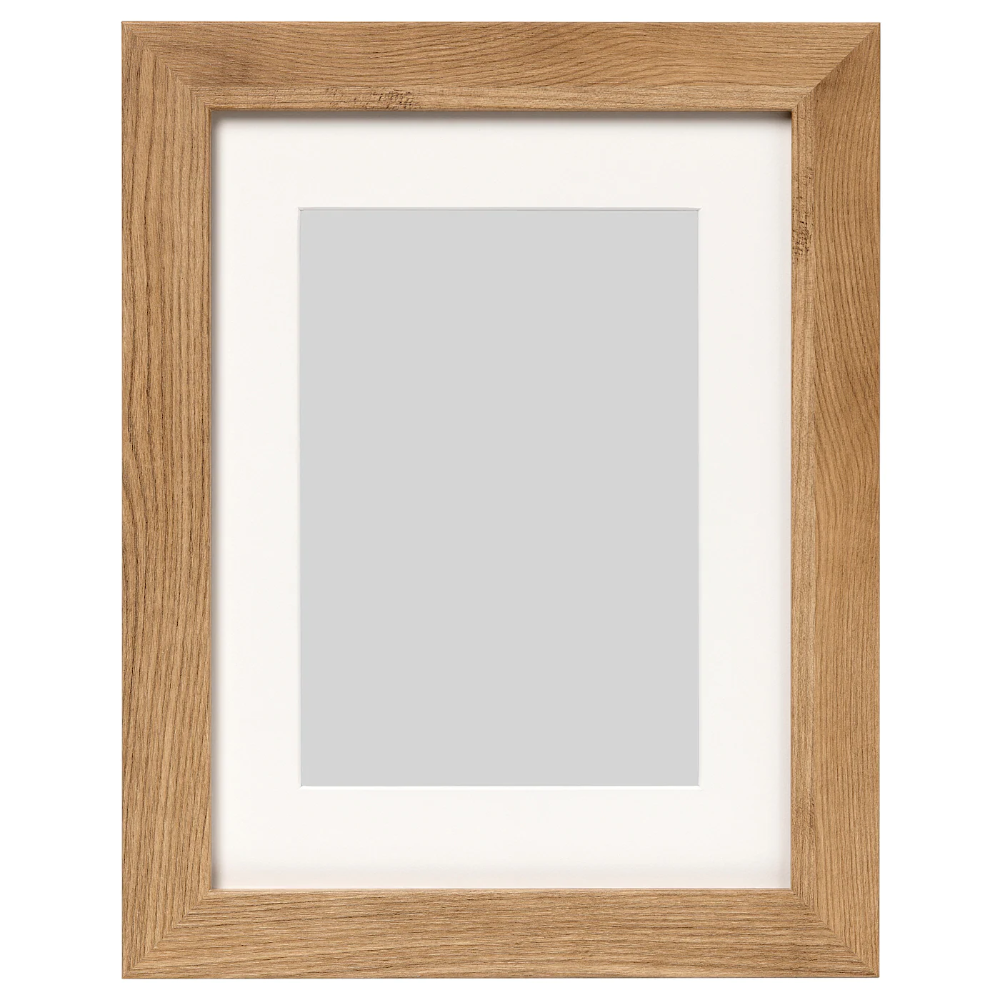 Dalskarr Frame Wood Effect Light Brown 12x16 Ikea In 2020 Gallery Wall Frames Frames On Wall Wood Picture Frames