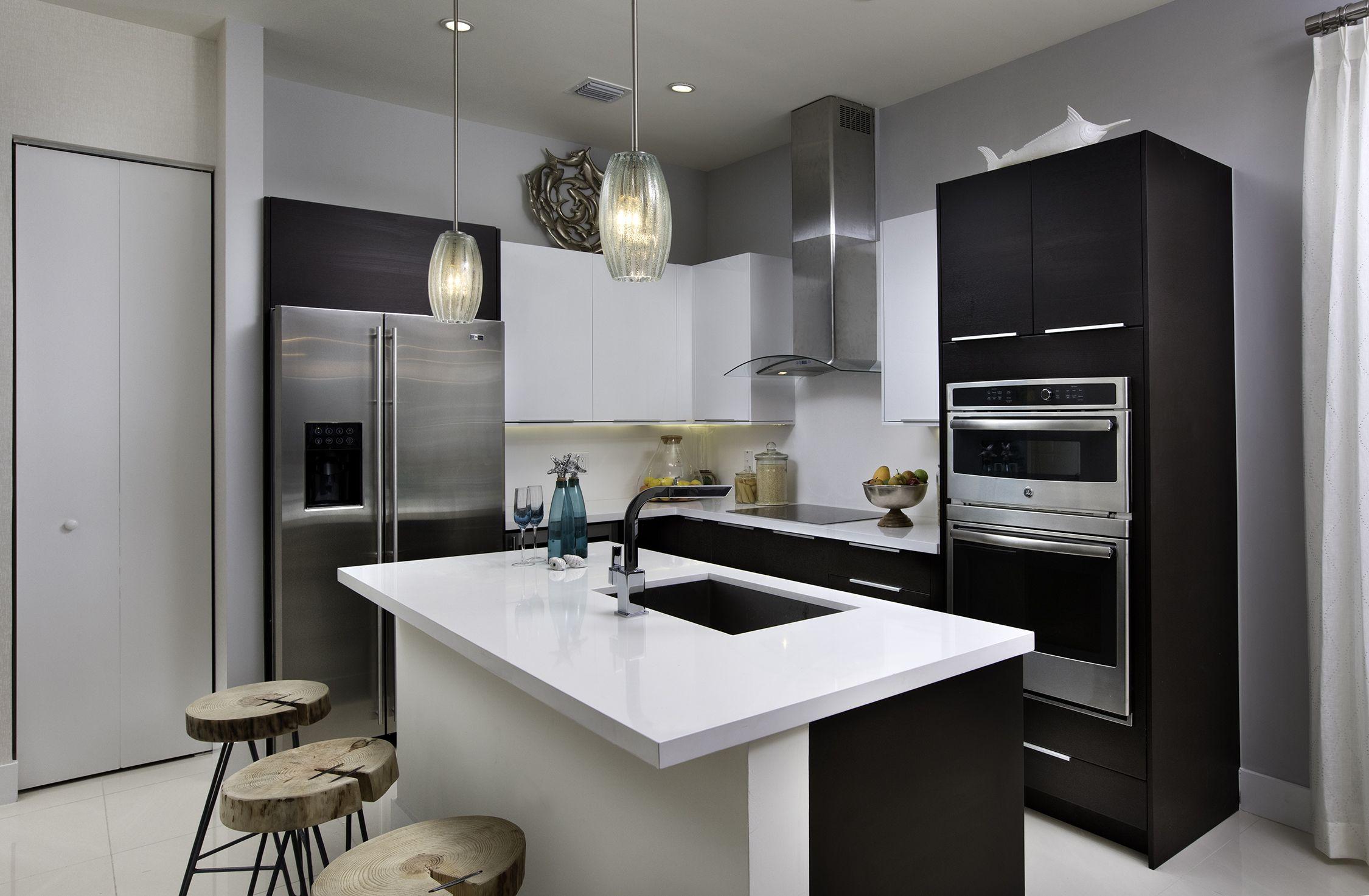 Dream Kitchens Modern Landmark Condominium  Model A  Modern Living Dream Kitchen