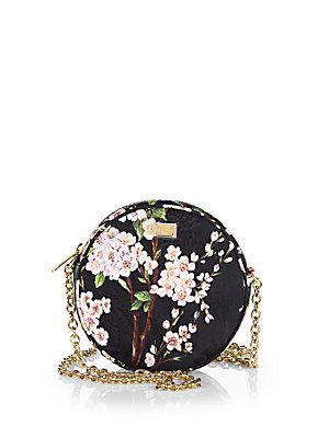 1f22dc878efb Dolce   Gabbana - Floral-Print Brocade Crossbody Bag