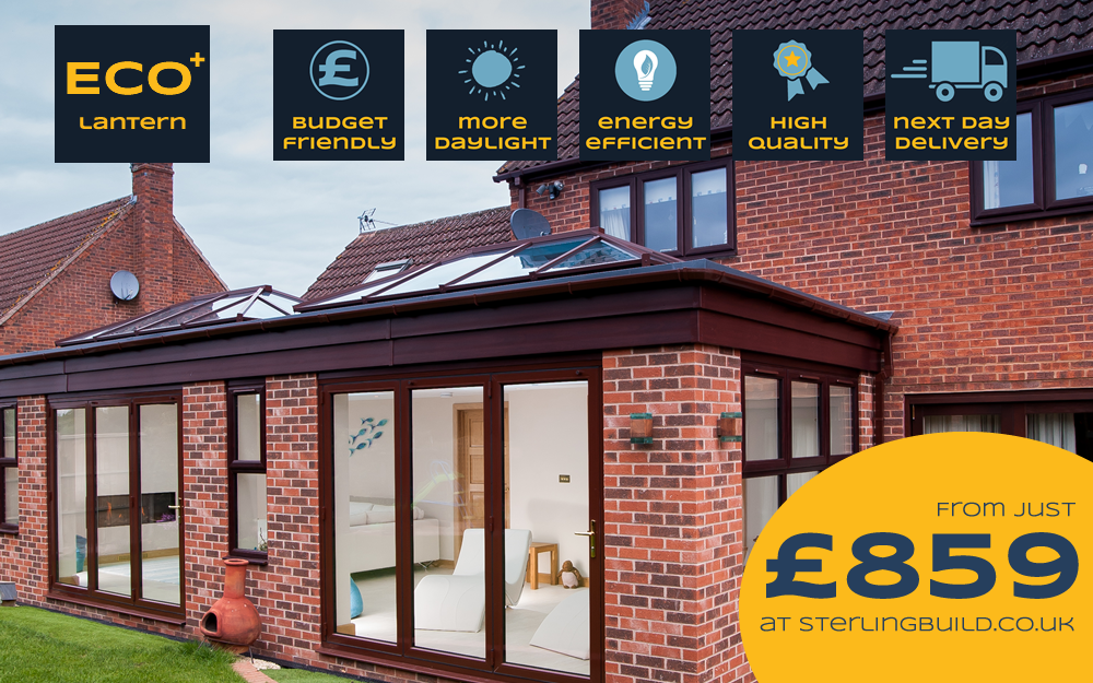 Add A Stylish, Energy Efficient Roof Lantern Skylight To Your Home Extension.  At Our