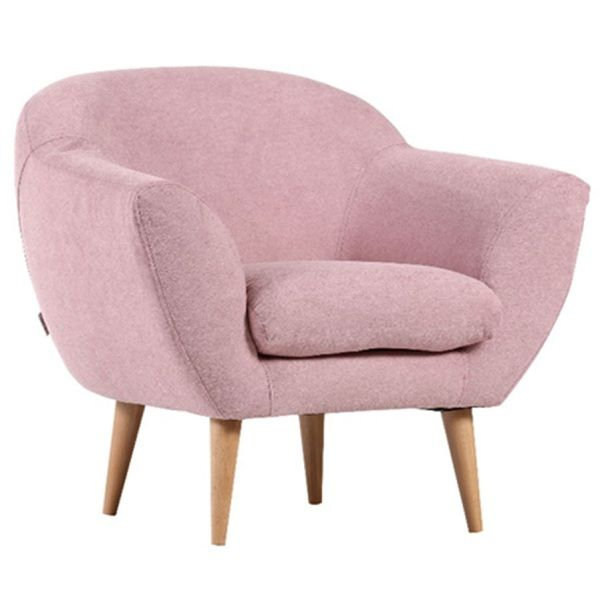 INTERhome Sessel KLAAS Stoffbezug Rosa #rosa #wohnen #Wohnzimmer