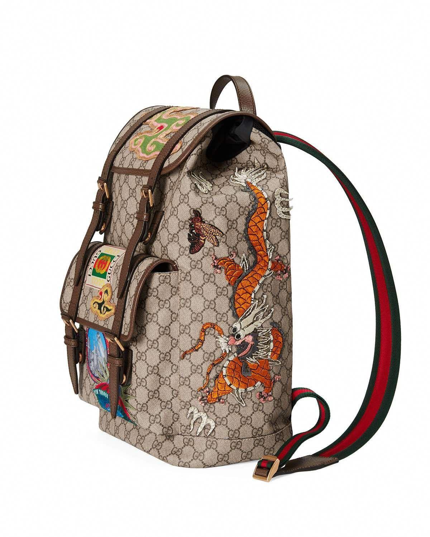 Gucci Courier Soft GG Supreme Backpack  Guccihandbags Guccio Gucci b326881fb690d