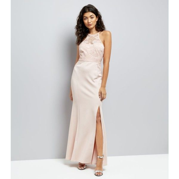 Ax Paris Pink Lace Top Maxi Dress New Look Outlet Store Sale Online Big Discount For Sale Discount Newest Hyper Online Store z95tb