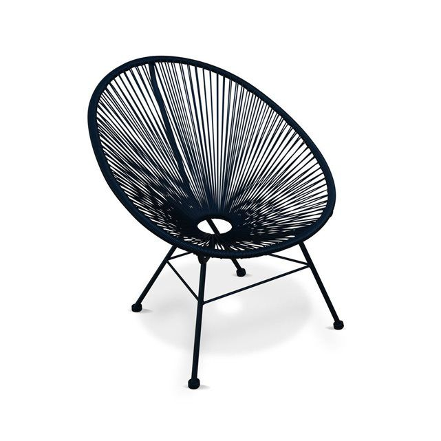 excellent ensemble de fauteuils acapulco chaise oeuf design rtro avec table d uappoint with. Black Bedroom Furniture Sets. Home Design Ideas