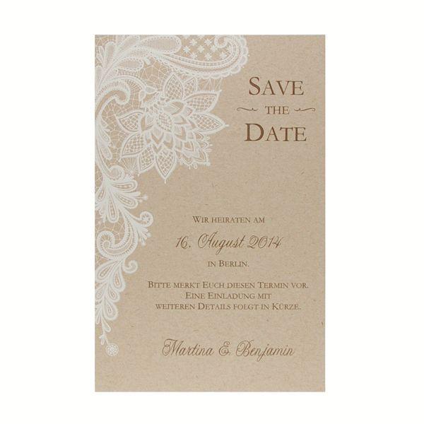 Schön Save The Date Karte   Vintage Lace   Sweetwedding   Hochzeitskarten, Druck,  Hochzeitsdekoration,