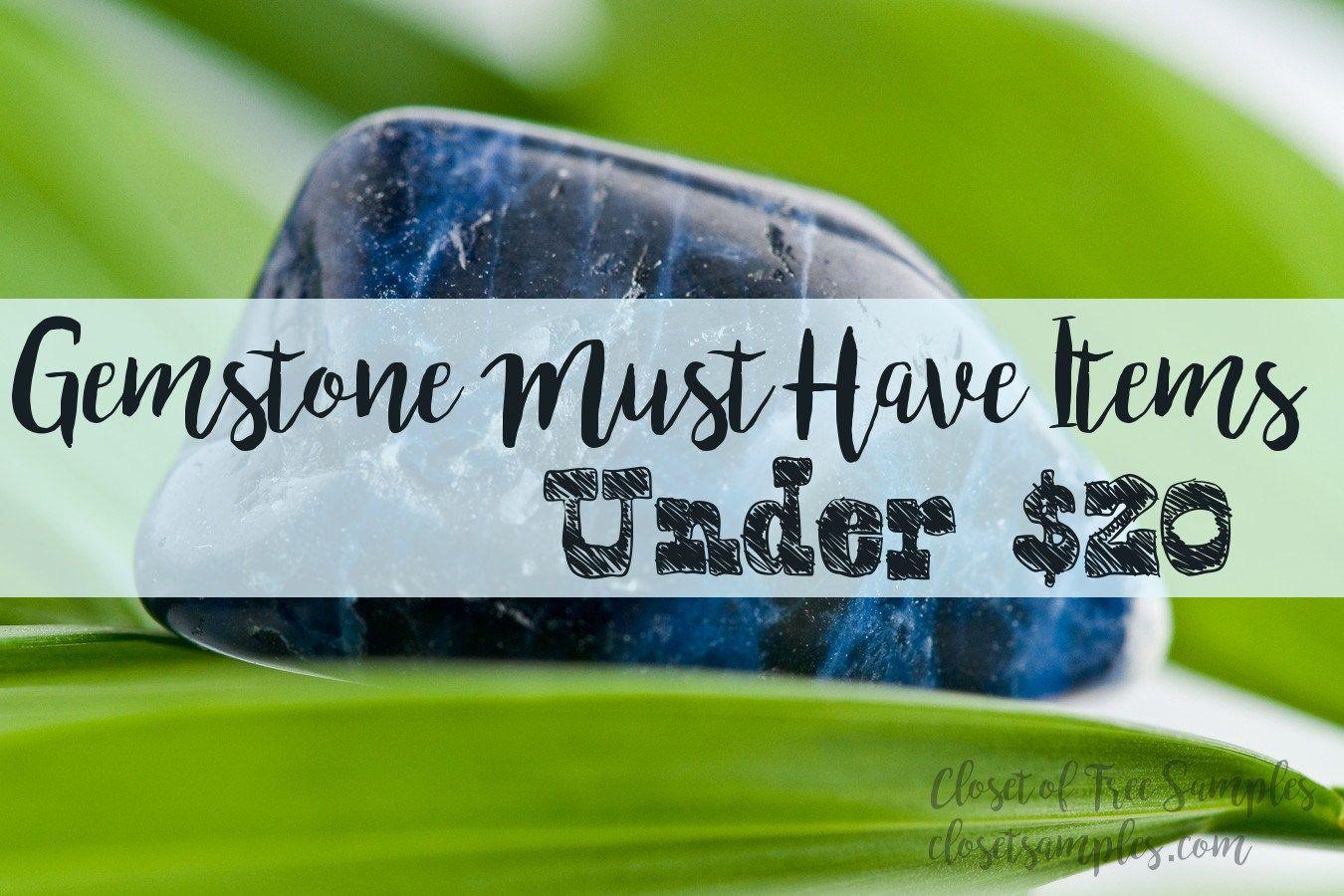 Amazing #Gemstone Must Have Items under $20!!